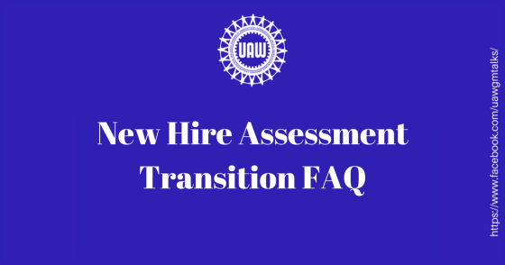 New Hire Assesment FAQ