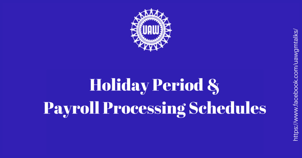 holiday payroll