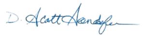 scott s signature