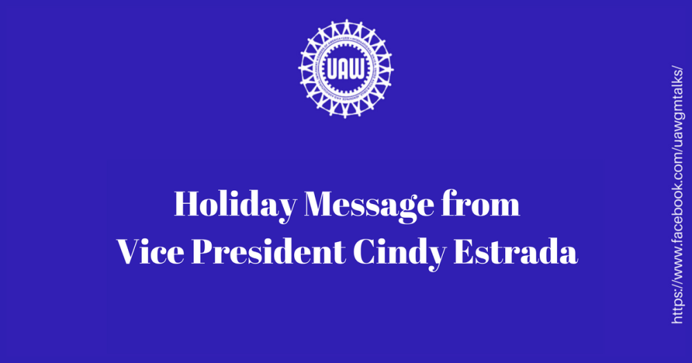 Holiday Message 2017