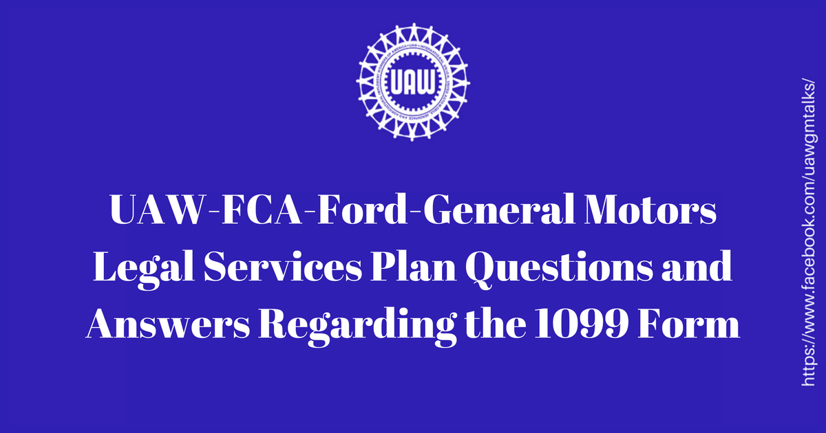 General motors application form for Uaw fca ford general motors legal services plan