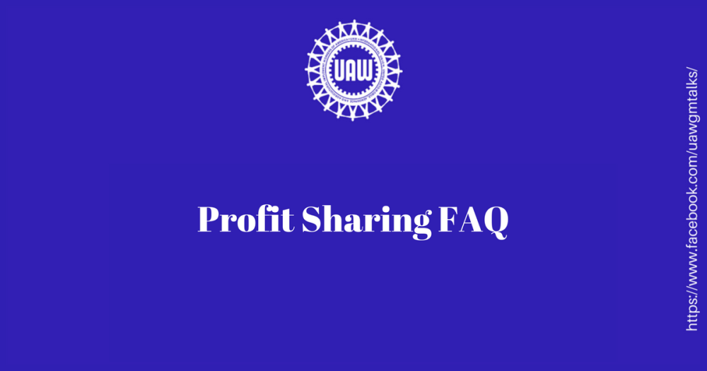 Profit Sharing FAQ
