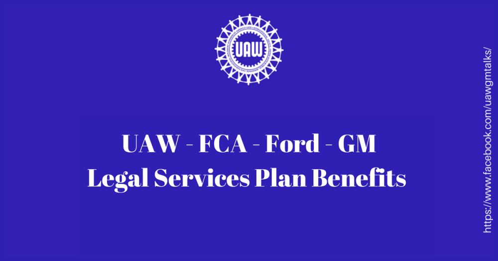 Legal Services Plan