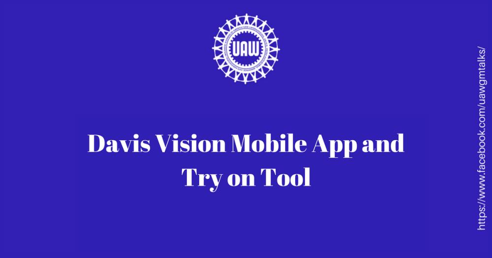 Davis app and tryon